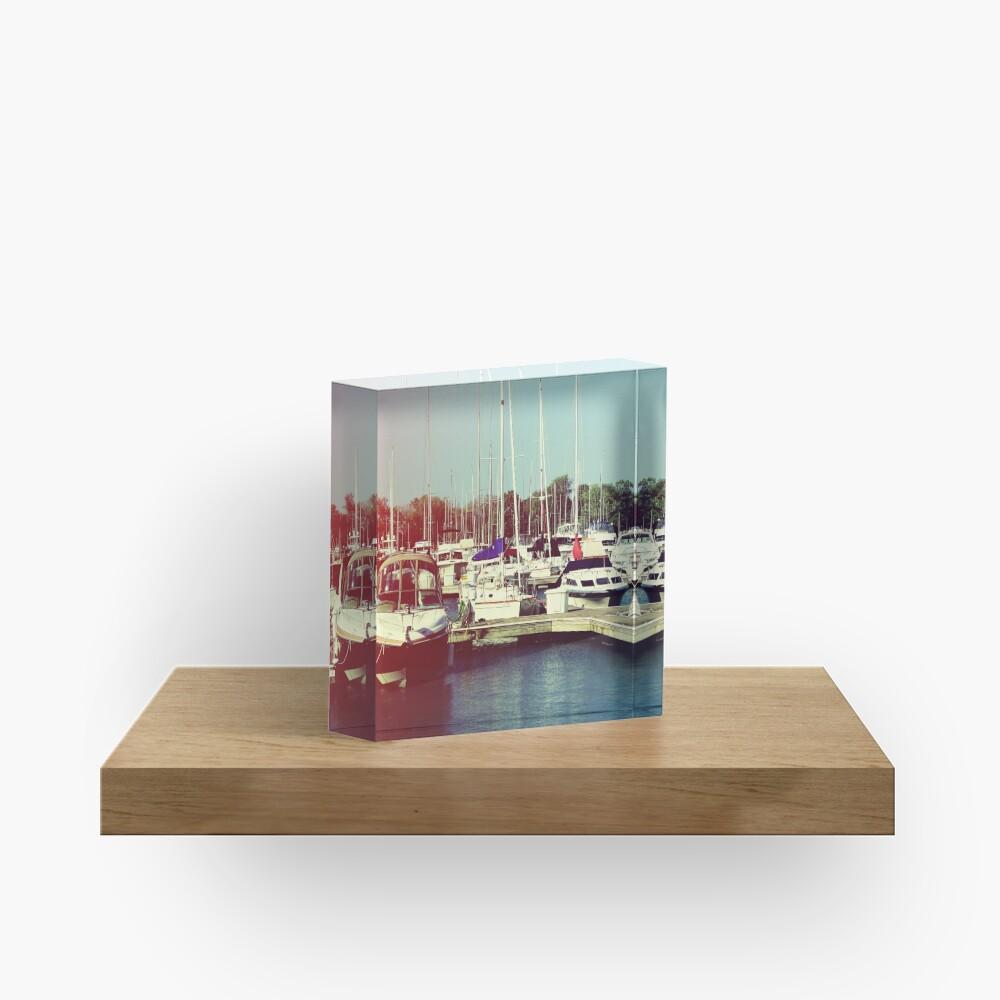 Boats IV Acrylic Block