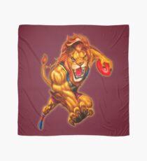 The Brave Lion artwork by Grange Wallis Scarf