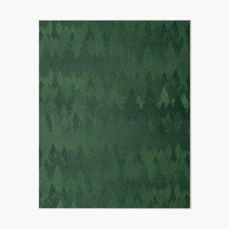 TREE LINE Art Board Print
