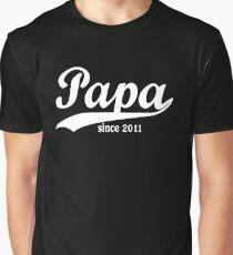 Papa 2011 Graphic T-Shirt