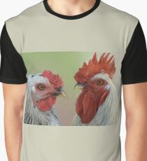 Hen & Rooster Graphic T-Shirt
