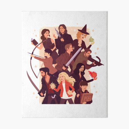 Once Upon a Time Art Board Print