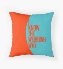 The Weirding Way Throw Pillow