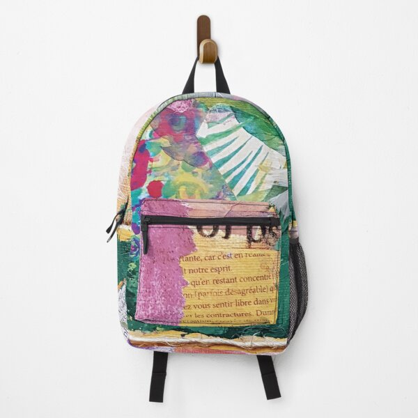 Put a feather on my colors Backpack