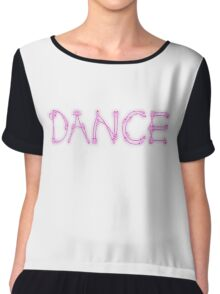 Dance. Women's Chiffon Top