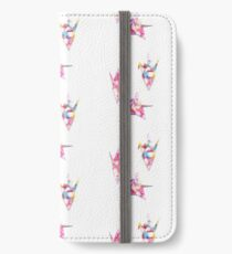 Origami cranes scanogram iPhone Wallet/Case/Skin