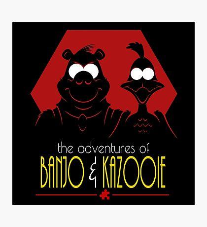 The Adventures of Banjo & Kazooie Photographic Print
