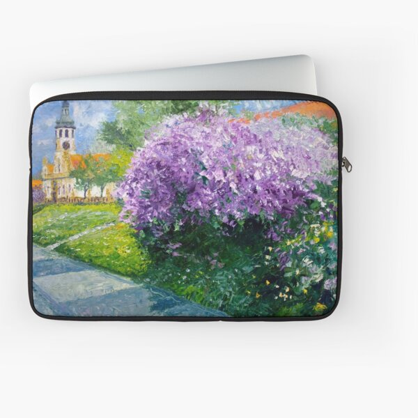Prague Spring Loreta Lilacs  Laptop Sleeve