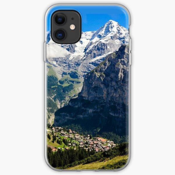 Jungfrau Region, Switzerland iPhone Soft Case