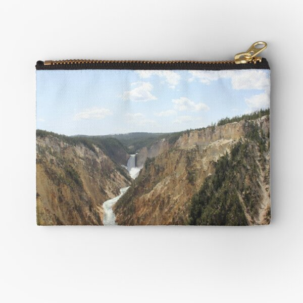 Grand Canyon of Yellowstone Zipper Pouch
