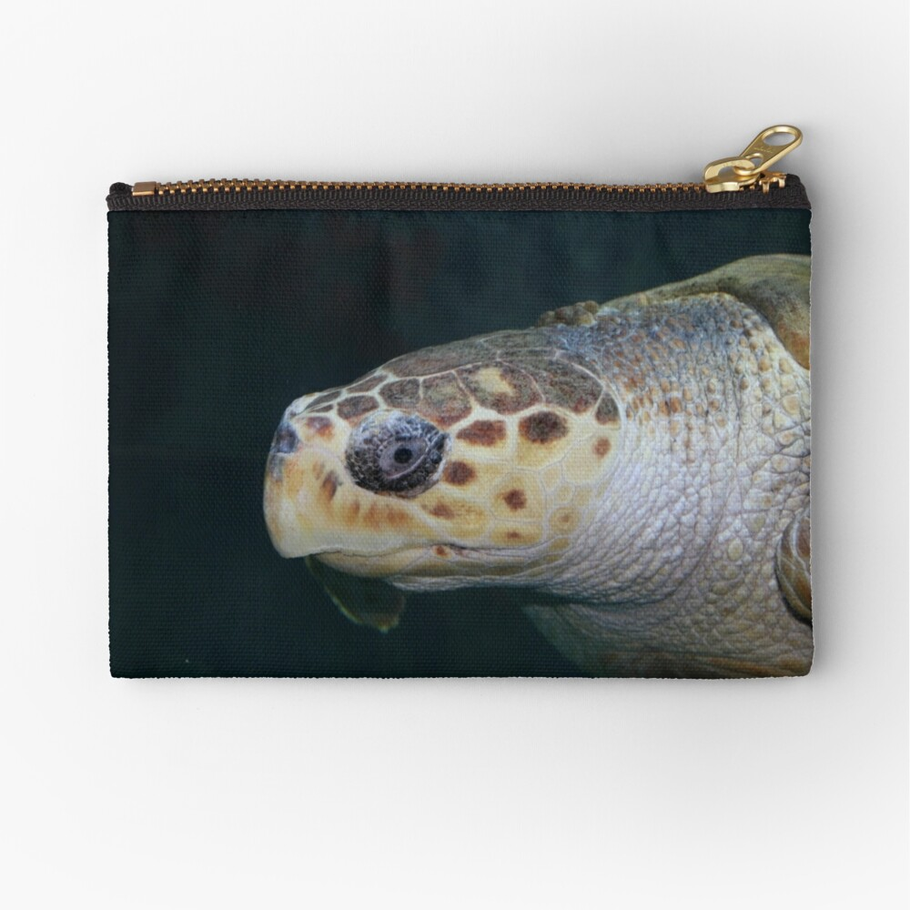 Turtle Zipper Pouch