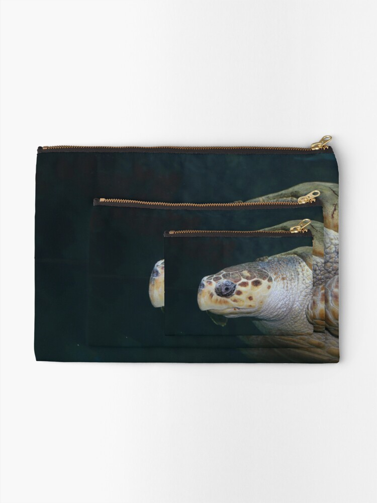 Alternate view of Turtle Zipper Pouch
