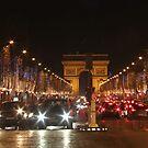 Avenue des Champs-Élysées by Elena Skvortsova