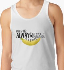 Doctor Who - Always Bring a Banana to a Party Tank Top