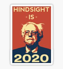 Hindsight is 2020 Sticker