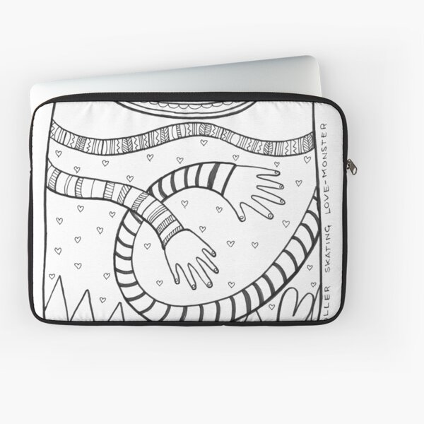 tickling love-monster Laptop Sleeve