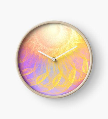 Sunny #Fractal Art Clock
