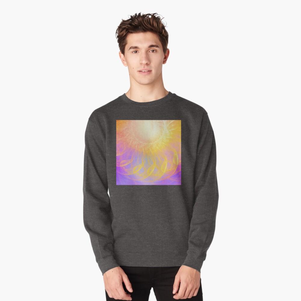 Sunny #Fractal Art Pullover Sweatshirt