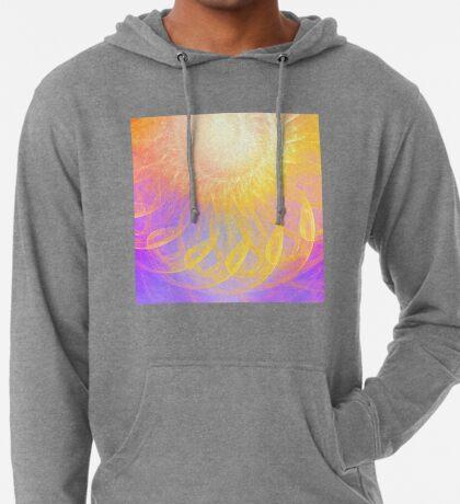Sunny #Fractal Art Lightweight Hoodie