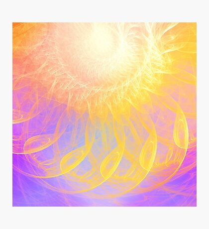 Sunny #Fractal Art Photographic Print