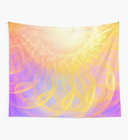 Sunny #Fractal Art Wall Tapestry