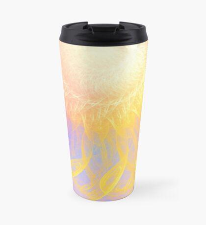 Sunny #Fractal Art Travel Mug