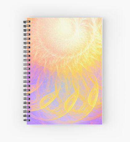 Sunny #Fractal Art Spiral Notebook