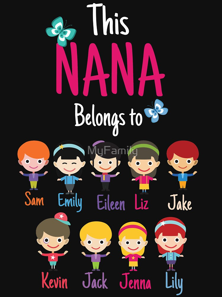 This Nana belongs to grandkids | Women's T-Shirt