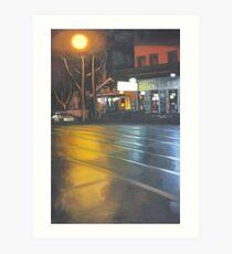 Street in Surry Hills Art Print