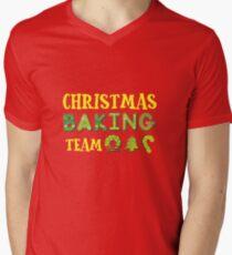 Christmas Baking Team Men's V-Neck T-Shirt