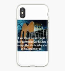 A Worship Leaders Heart iPhone Case