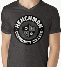 Henchman Community College Men's V-Neck T-Shirt