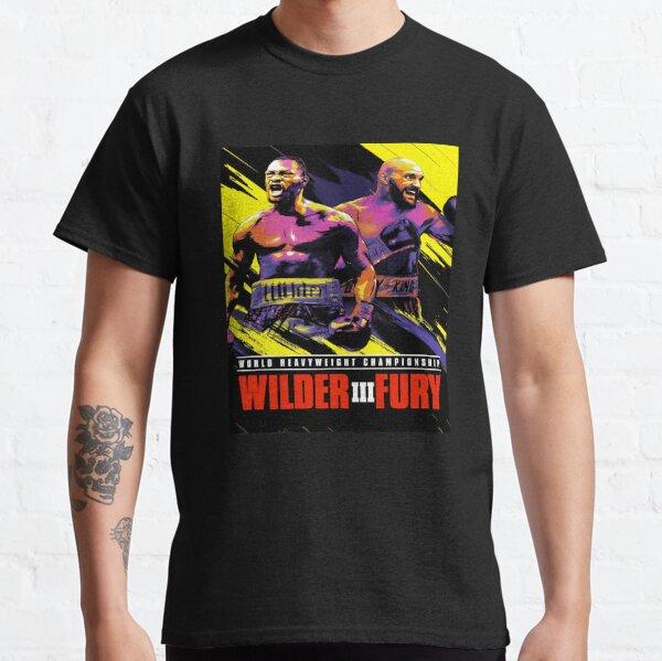 Furia contra Wilder3 Camiseta clásica