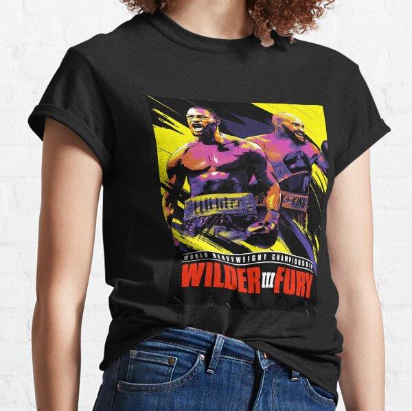 Fury Vs Wilder3 Classic T-Shirt