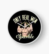 Nur echte Männer funkeln Uhr