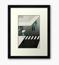 let it rain Framed Print