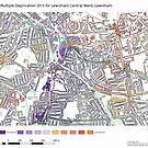 Multiple Deprivation Lewisham Central ward, Lewisham by ianturton