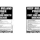 Foot and Mouth disease poster by LeMaxBleu