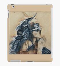 shaman of blue jays iPad Case/Skin