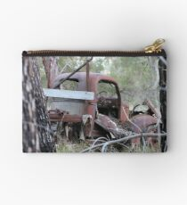 Rusty Truck in the Trees Studio Pouch
