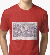 Multiple Deprivation Mile End ward, Tower Hamlets Tri-blend T-Shirt