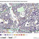 Multiple Deprivation Mile End ward, Tower Hamlets by ianturton