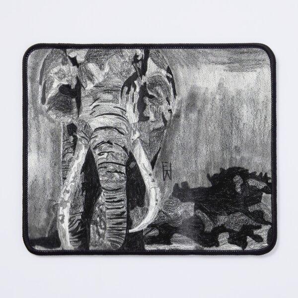 Weary Elephant Mouse Pad