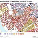 Multiple Deprivation Munster ward, Hammersmith & Fulham by ianturton