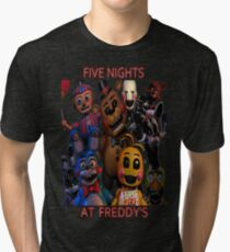 FNAF 2 animatronics Tri-blend T-Shirt