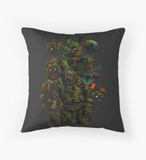 Five Nights at Freddy's 3: It's All in Your Mind Throw Pillow
