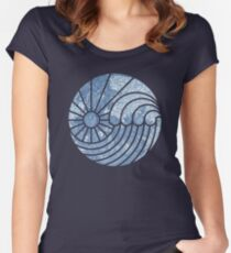 Sea of Serenity Women's Fitted Scoop T-Shirt