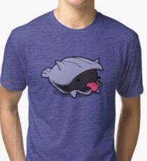 Number 90 - Little Shell Dude Tri-blend T-Shirt