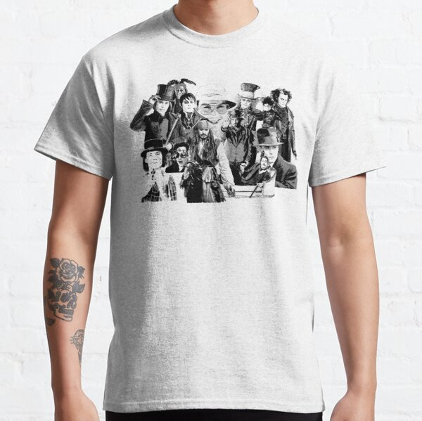 Las muchas caras de .... Camiseta clásica