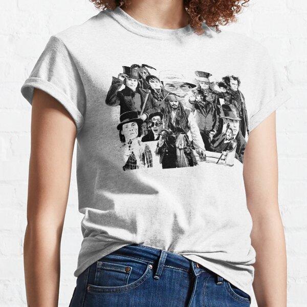 Les nombreux visages de .... T-shirt classique